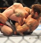 Tom Lawlor chokes
